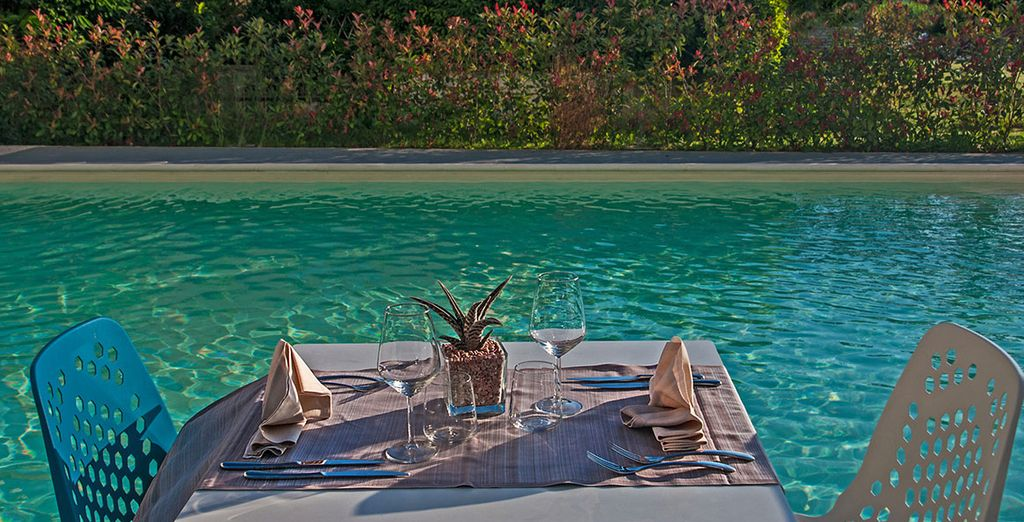 Dine al fresco and make the most of the evening sun
