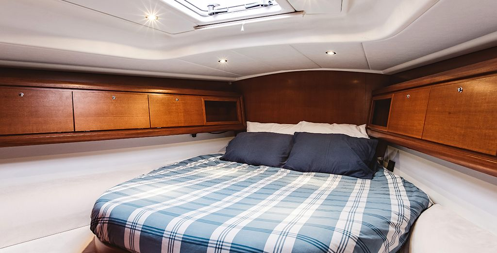 Great space to bed down