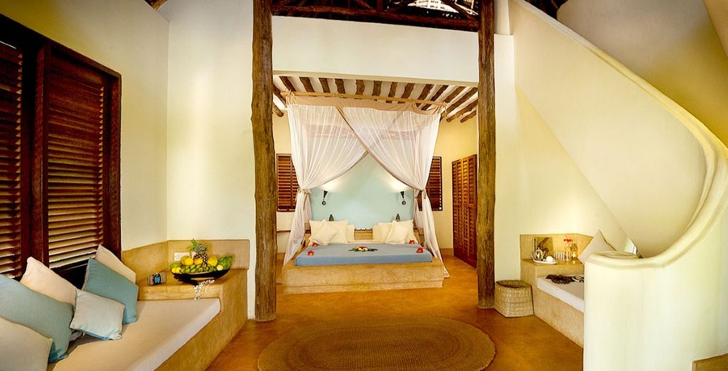 Experience true opulence in the exclusive Garden Bungalow