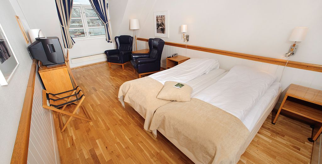 Our members can enjoy a spacious and comfortable room