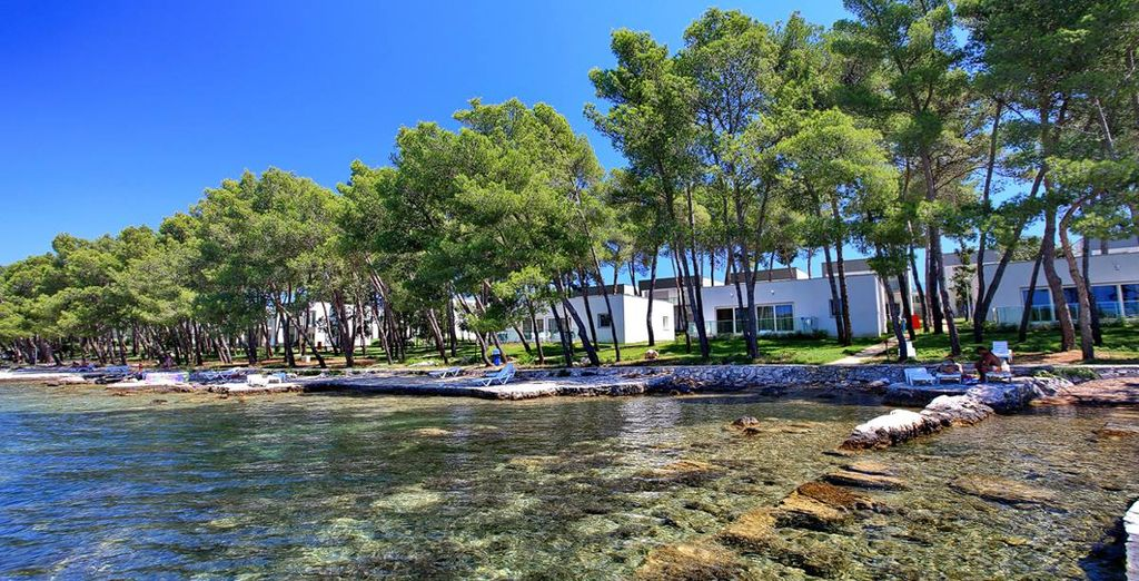 Right on the doorstep of the Adriatic Sea