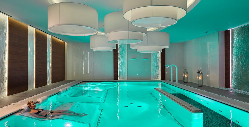 And a supremely relaxing spa