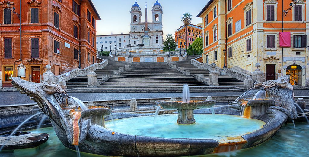 Head out and see the exciting sites of Rome!