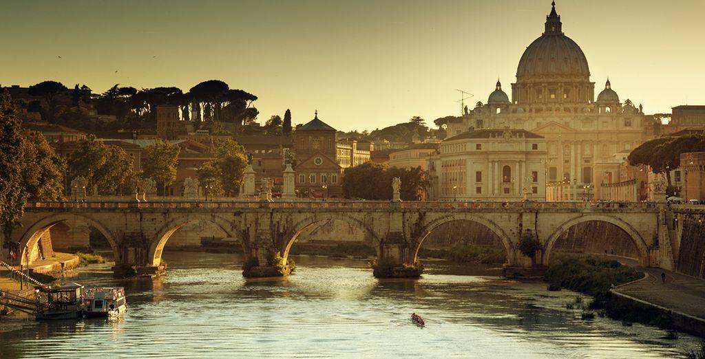 ...to the splendor of Renaissance Italy