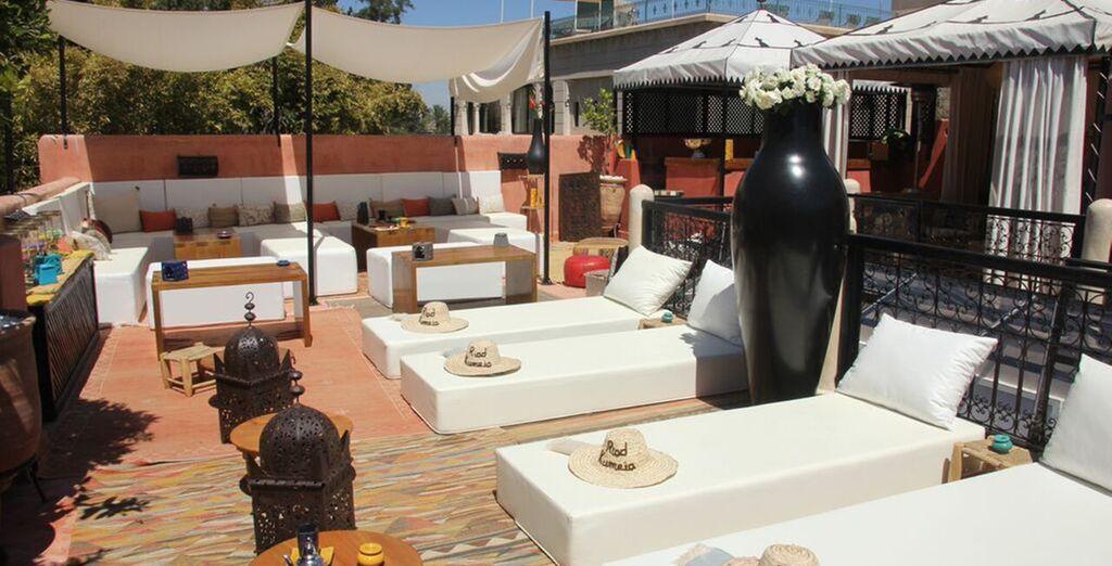 Or sunbathe on the terrace