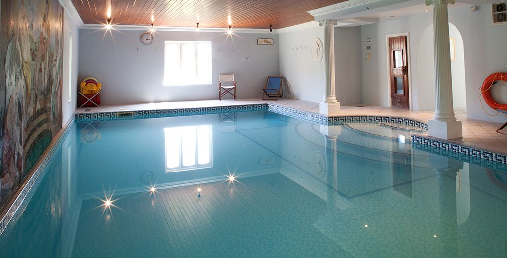 There are many onsite activities to entertain you including an indoor pool...