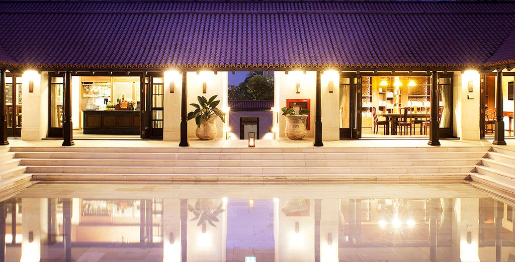 This 5* resort blends Thai style and hospitality