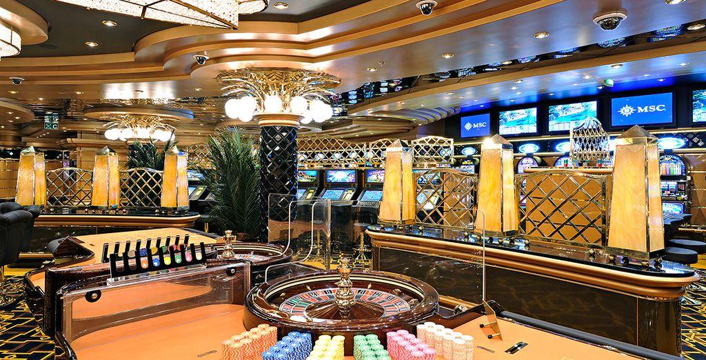 Facilities include a casino, theatre, and open air cinema