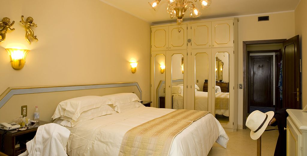 Our members can enjoy an Elegance Room