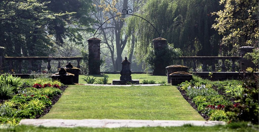 Including 12 acres of historically listed gardens