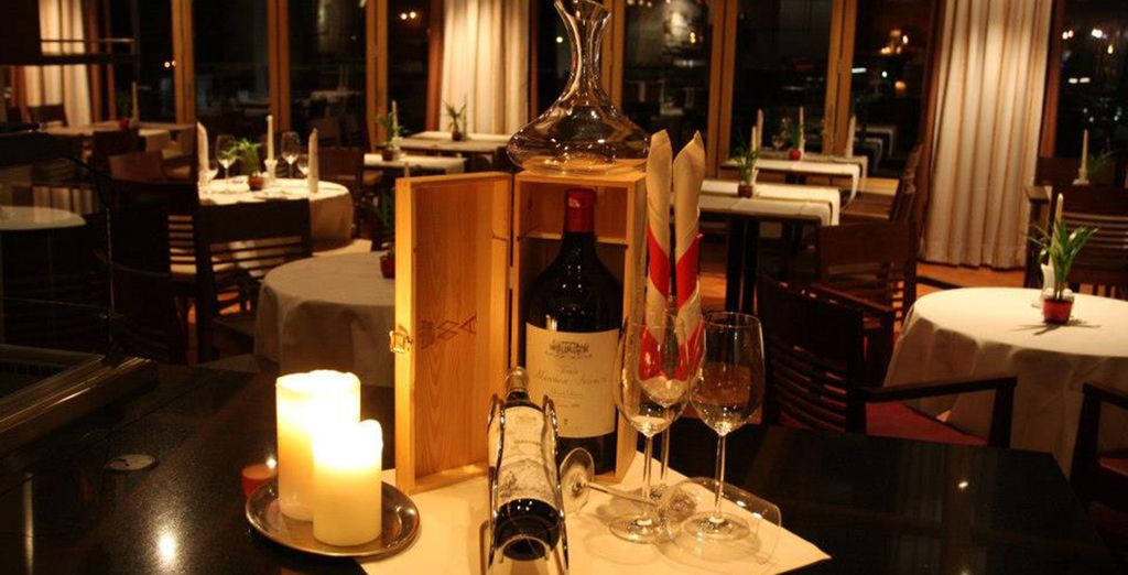 Enjoy an elegant evening of local wines and good food