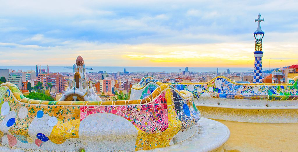 Begin in beautiful Barcelona