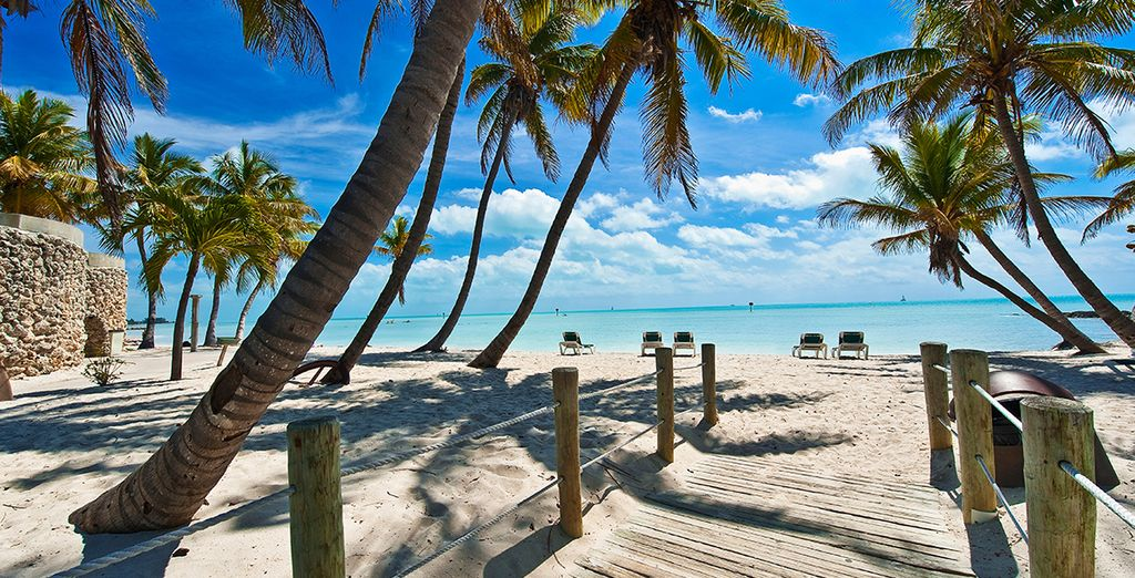 Cruise to sunny destinations such as Key West, Florida