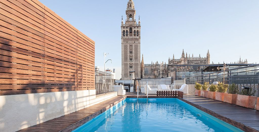 Bask in the glory of the cathedral - EME Catedral Hotel 5* Seville