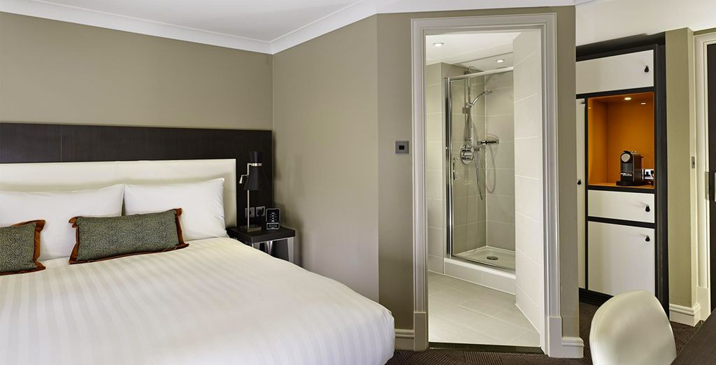 Our members will be upgraded to a Deluxe Room