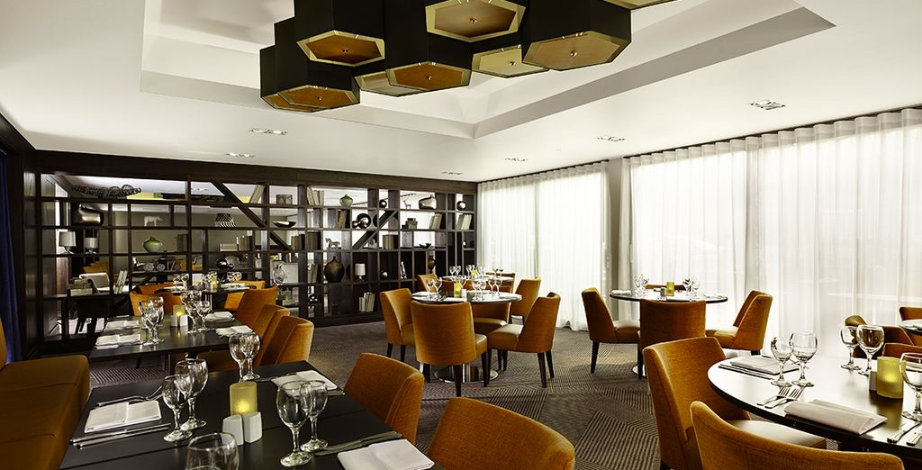 Then return to the hotel for a delicious dinner - you have a 10% restaurant discount