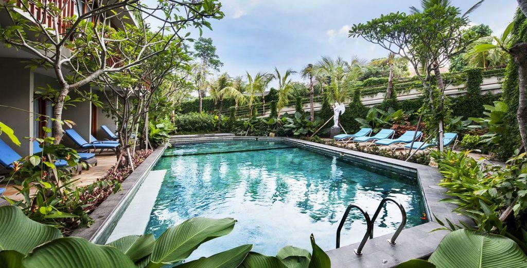 Beginning at the Wana Resort Ubud