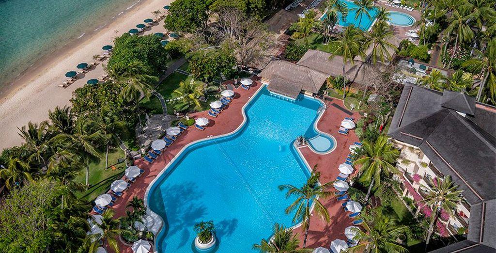 To the Prama Sanur Beach Resort