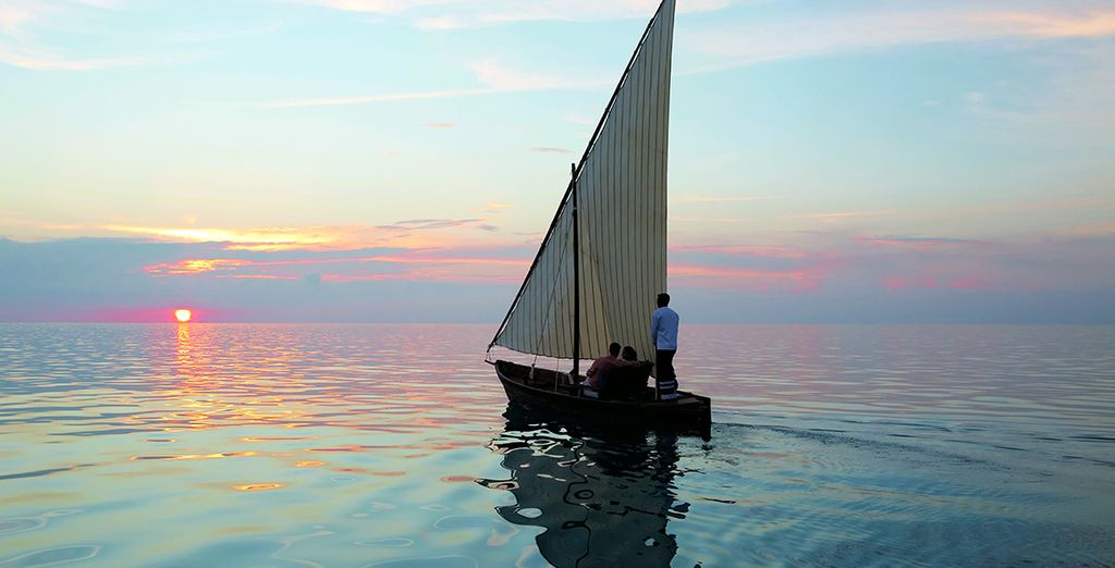 As well as a romantic sunset cruise