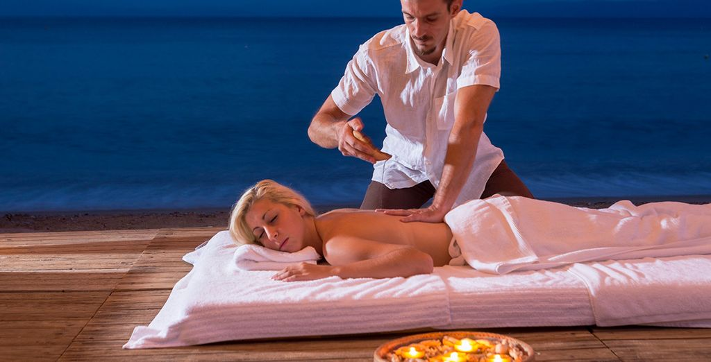 Or with an indulgent massage