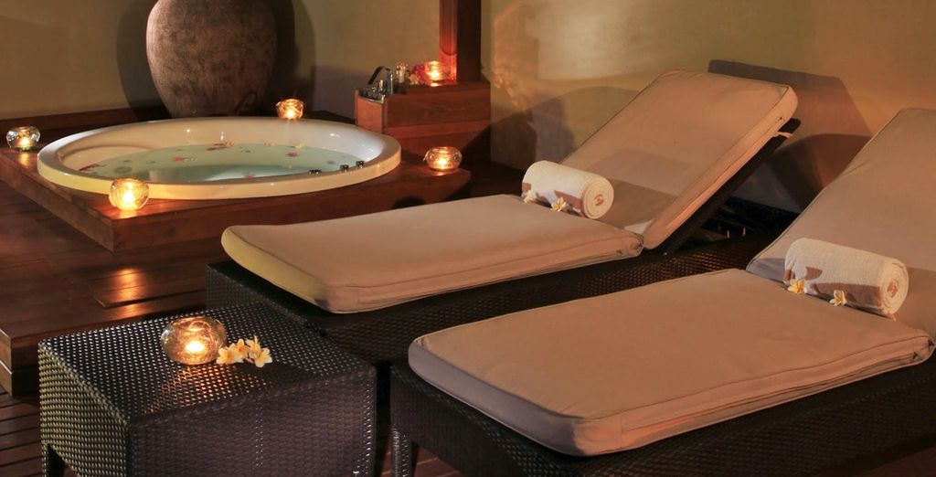 Soothe your senses at the spa