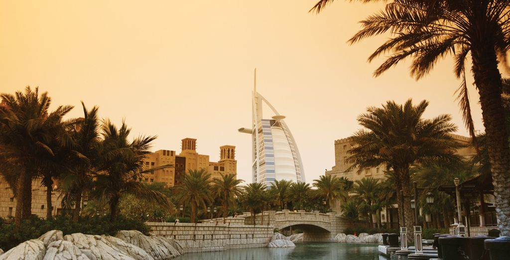 And there's also the lesser known peaceful side of Dubai