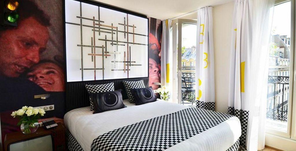 A Parisian boutique hotel with memorably themed rooms - Le 123 Sebastopol 4* Paris