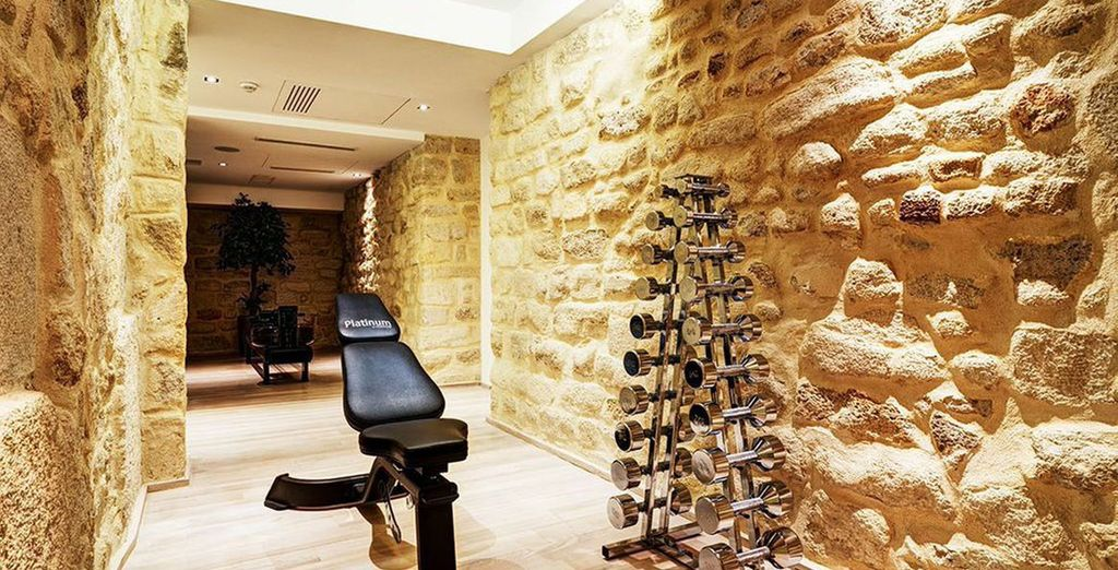 Indulge in a spot of fitness