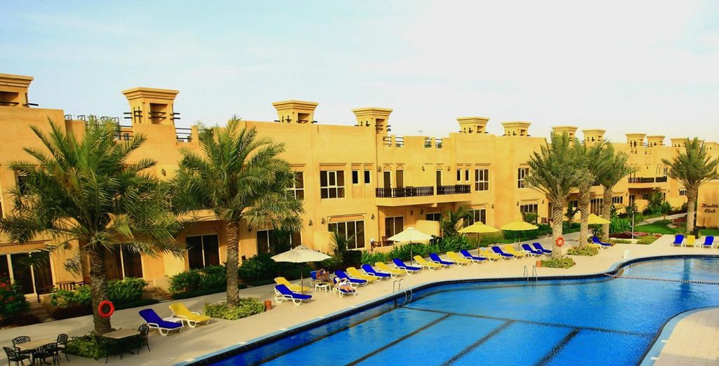 Welcome to the Al Hamra Village Golf & Beach Resort