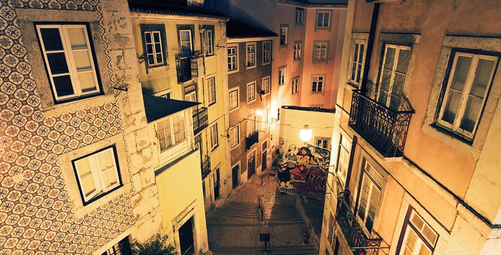 The winding, cobbled streets