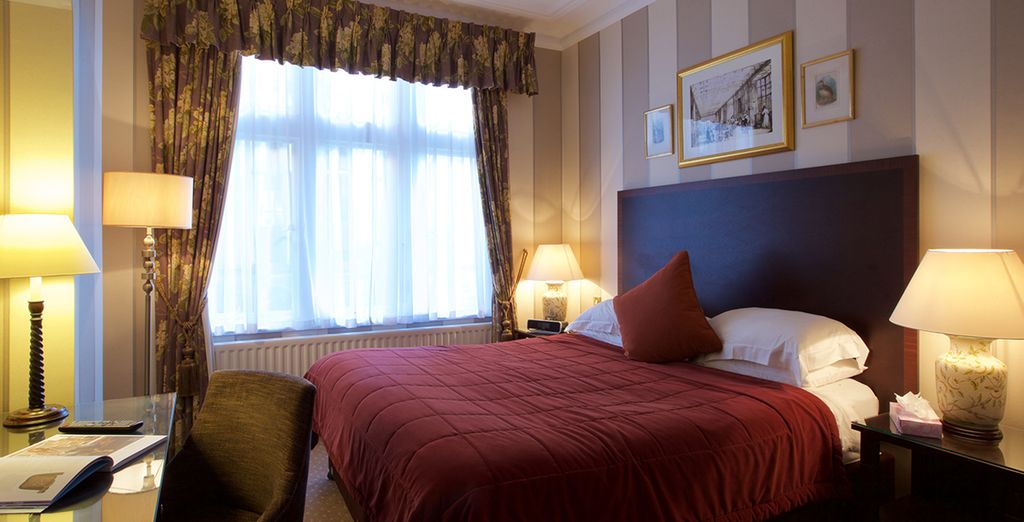 Our members can enjoy a cosy double room for two