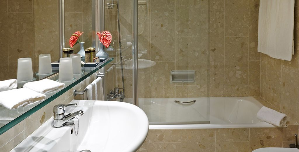 Complete with a sleek, modern ensuite