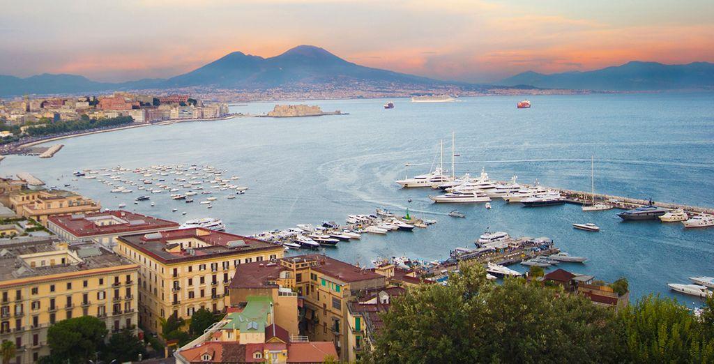 Sail into picturesque bays (Naples)