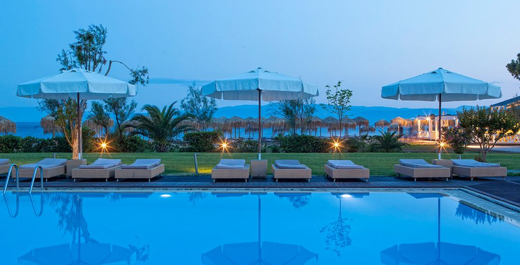 And access to the range of wonderful facilities at sister hotel, Skiathos Princess