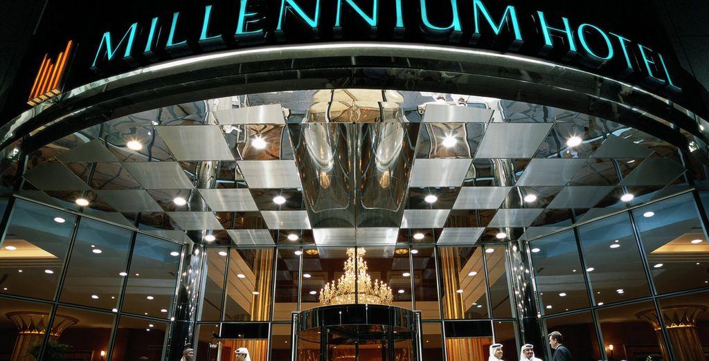 At the 5* Millennium Corniche Hotel Abu Dhabi