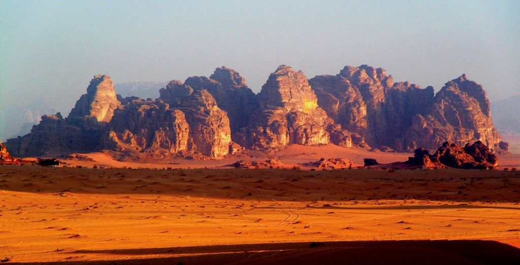 Experience Mars on this earth - Wadi Rum