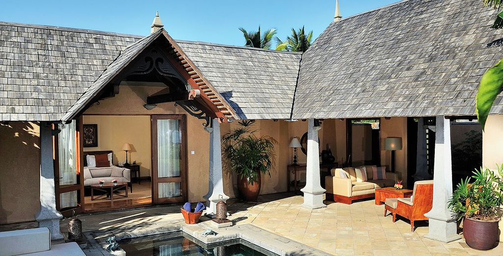 Our members can enjoy a Beachfront Luxury Suite Pool Villa