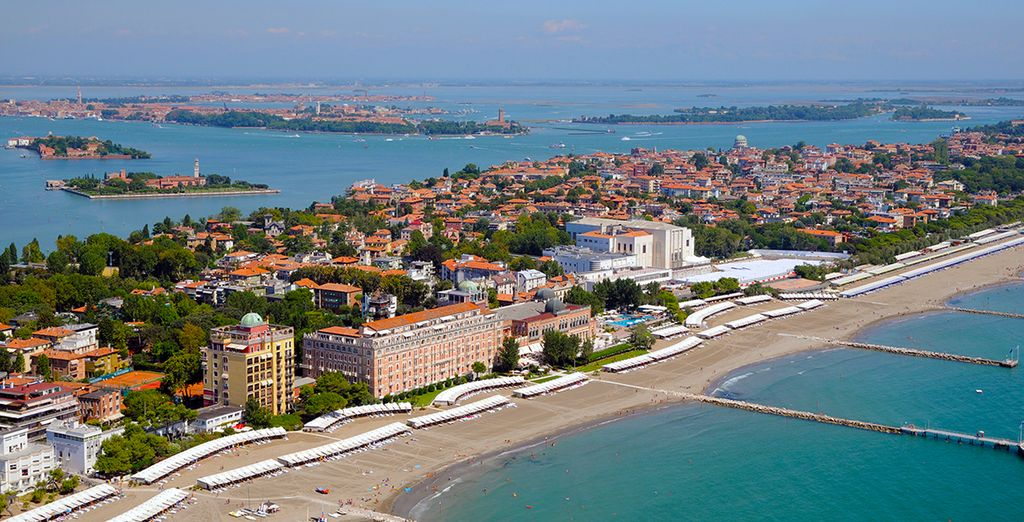 Your hotel is situated on Venice Lido...