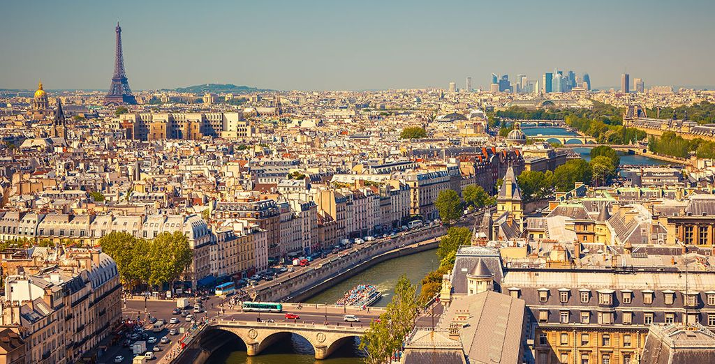 The perfect base for discovering Paris!