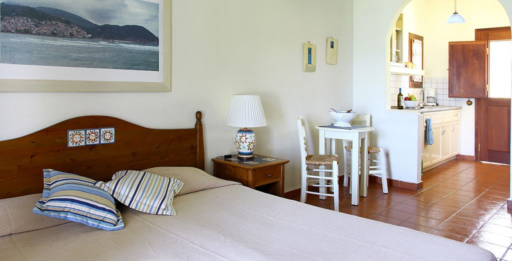 Our members can enjoy a junior suite