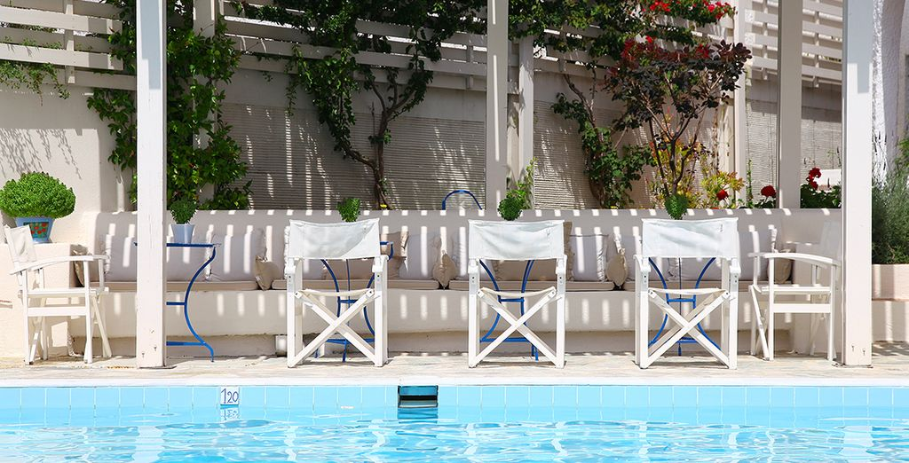 Or simply relax by the pool, soaking up the sunshine