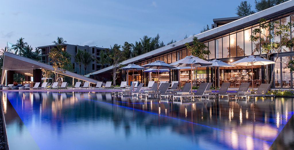 You will receive two free Thai set dinners at the Kokulo Beach Club