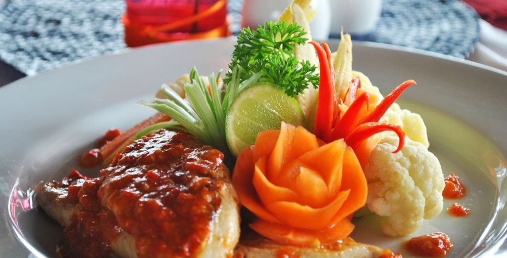 To taste the delicious Indonesian specialties