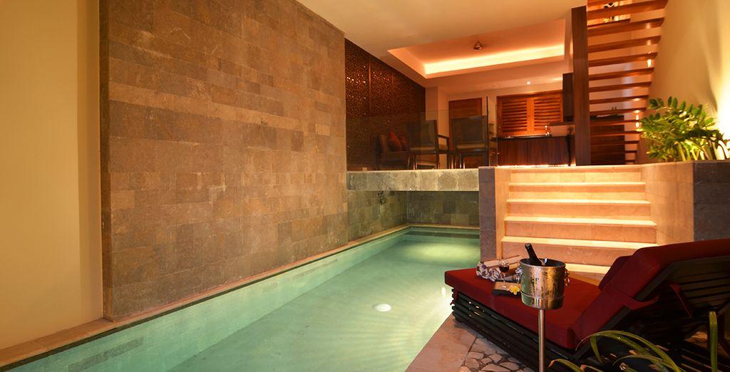 Then return to the luxury of Villa Kayu Raja