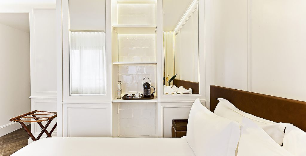 Stay in an upgraded, bright and fresh Deluxe Room