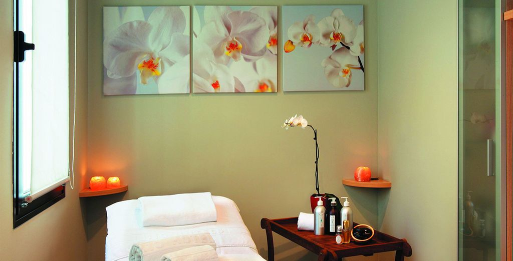 Unwind with a relaxing spa treatment