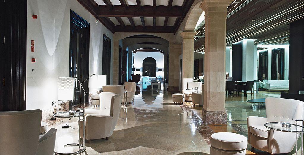A stylish & modern interior