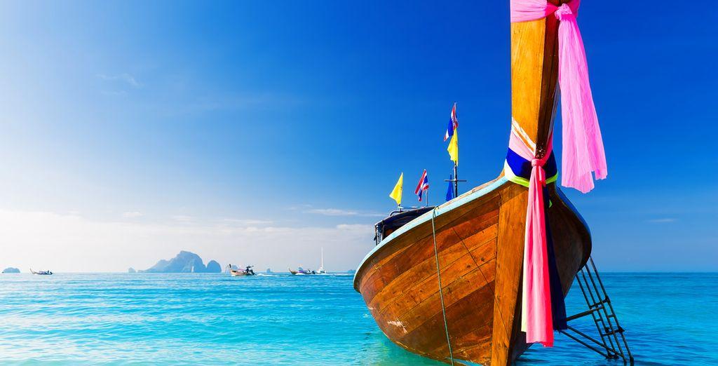 On an idyllic tropical island
