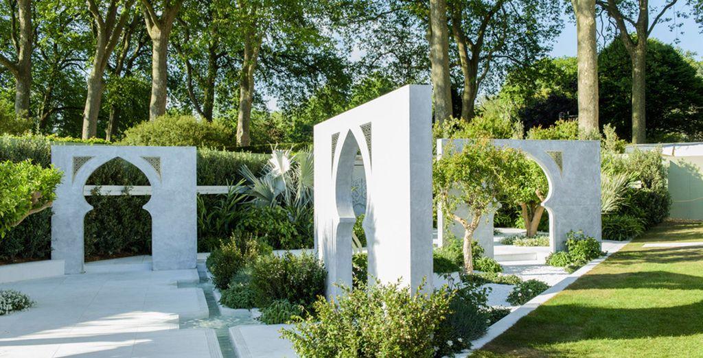 And amazing gardens