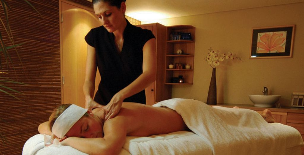 Why not treat tourself to an indulgent massage?